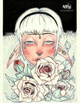 Elfe Roses
