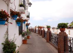 Rue montante Mijas
